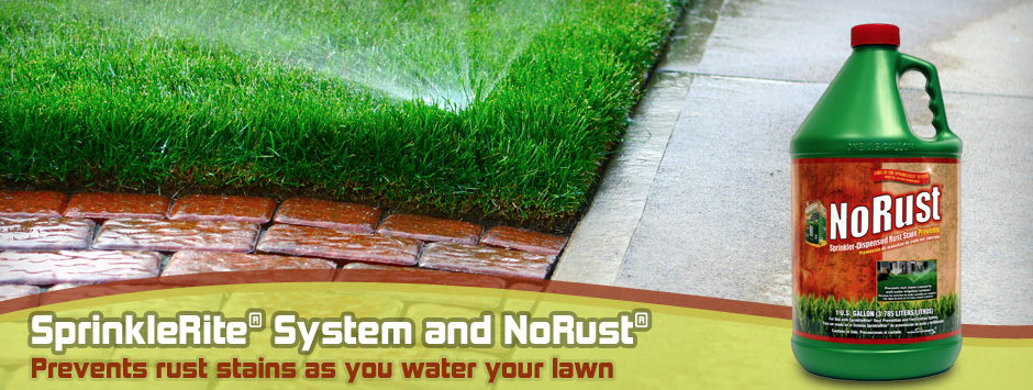 Sprinklerite Solutions - Prevent Rust Stains