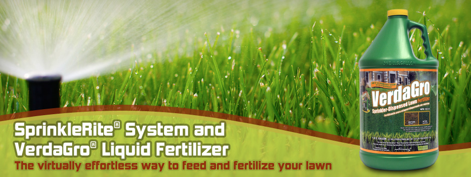 Sprinklerite Solutions - Fertilize Your Lawn